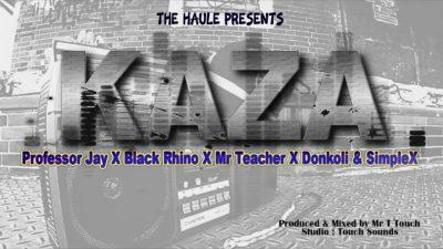Professor Jay ft. Black Rhyno, DonKoli, Mr Teacher & Simple X - KAZA Mp3 Audio Download