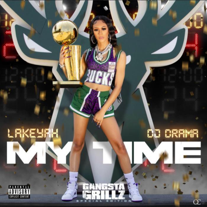 Lakeyah & DJ Drama -  In Person Feat. Tyga & OG Parker