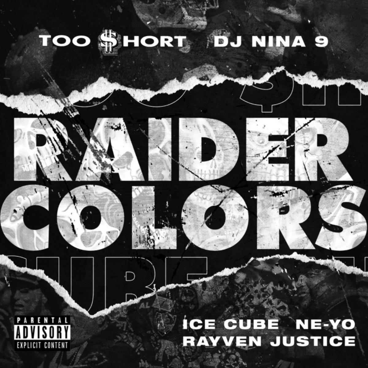 Too Short Ft. Ice Cube, Ne-Yo, Rayven Justice & DJ Nina 9 - Raider Colors Mp3 Download
