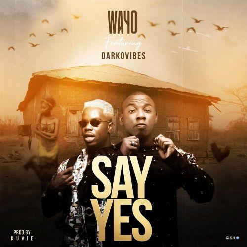 Wayo ft. Darkovibes - Say Yes (Prod. By Kuvie) Mp3 Audio